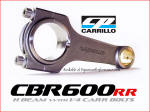 Carrillo Rods at Dynoman for CBR600rr Honda