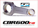Carrillo Rods for CBR600F4 at Dynoman