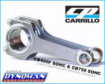 Carrillo Rods for CB400F at Dynoman