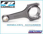 Carrillo Rods for Honda CBX at Dynoman
